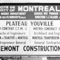 Youville Plateau, 1965