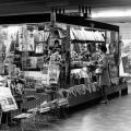Kiosk at Saint-Laurent Station, 1969