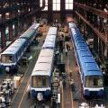 Renovation of MR-63 cars, circa 1993
