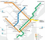Stcum Metro Map.Elevator Access To The Metro Societe De Transport De Montreal