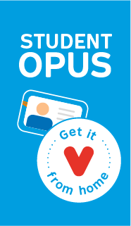 Student OPUS card. Get it from home