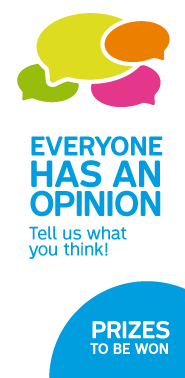 Everyone has an opinion. Tell us what you think! Prizes to be won