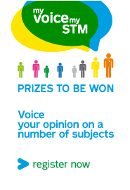 My voice my STM Prizes to be won, Voice your opinion on a number of subjects