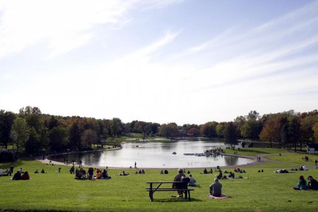 Lac des castors: crédit photo Tourisme Montréal, Rosalie Pépin