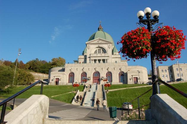 Photo de l'Oratoire Saint-Joseph: Crédit photo Tourisme Montréal, André Charron.
