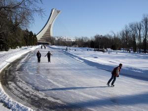 Icerink parc Maisonneuve