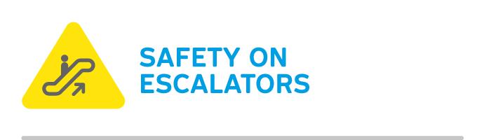 Safety on escalators