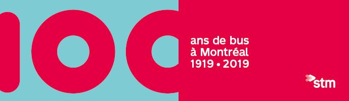 100 ans de bus à Montréal 1919-2019