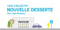 La STM offre une nouvelle desserte de taxi collectif hivernale au parc Jean-Drapeau