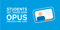 New ways to obtain student OPUS cards during the pandemic