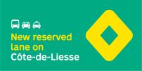 STM announces implementation of bus, taxi and carpool priority measures along Côte-de-Liesse corridor