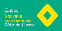 La STM annonce la mise en service de mesures préférentielles pour bus, taxi et covoiturage sur l'axe Côte-de-Liesse