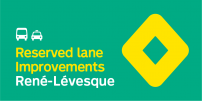 STM announces extended hours of operation for René-Lévesque reserved lane