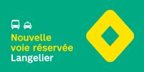 La STM annonce la mise en service de mesures préférentielles pour bus-taxi sur l'axe Langelier