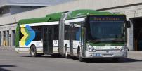 Bilan de l'essai du bus articulé hybride de Irisbus- Iveco