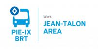 Pie-IX BRT : Major upcoming work in the Jean-Talon area