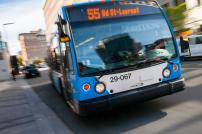 Embarquement plus rapide à bord des bus de la STM!