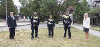 La STM présente le premier contingent de constables spéciaux de la direction Sureté et Contrôle