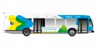 The STM and les Amis de la montagne keep their promise as part of Je fais Montréal : new hybrid buses on the 11 – Parc-du-Mont-Royal bus line