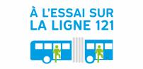The STM announces an extension for its boarding via all-doors pilot projets on the 121 - Sauvé/Côte-Vertu bus line