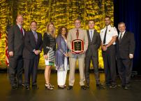 The STM receives the Gold Award in Security from the American public transportation association