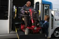 STM paratransit services - A strong level of appreciation and ideas for improvement already rolled out