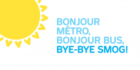 SMOG campaign: the STM encourages motorists to try out public transit