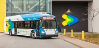 Long-range electric bus arrives in Montréal