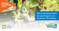 Transport actif et collectif vont de pair : la STM appuie le Trottibus (French only)
