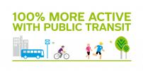 Semaines de la mobilité: STM highlights health benefits of public transit