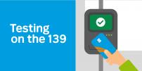 Testing new card readers on line 139 Pie-IX