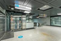 Station Berri-UQAM: Les ascenseurs reliant la ligne verte en service