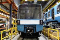 Une voiture de métro MR-73 retourne chez Alstom
