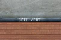Projet du garage Côte-Vertu: La station Côte-Vertu fermée du 29 mai au 22 août pour des travaux d'installation d'appareil de voie