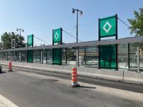 SRB Pie-IX: La construction des abris en cours à Montréal