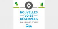 La STM annonce la mise en service de mesures préférentielles pour bus et taxis sur le boulevard Gouin