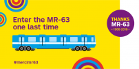 Original MR-63 car headed to the Canadian Railway Museum in Saint-Constant
