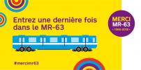 La STM rend un hommage spécial au dernier train MR-63 à l'occasion de sa dernière journée en service clientèle