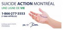 STM and Suicide Action Montréal relaunch suicide prevention campaign