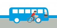 STM launches new outreach campaign to encourage bus-bike road sharing