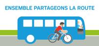 La STM lance une nouvelle campagne clientèle pour une meilleure cohabitation bus et vélos
