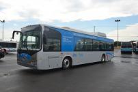 Un autobus régulier entièrement électrique en essai sur les réseaux de la STO et de la STM