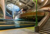 Journées de la culture : visits of the Blue line stations