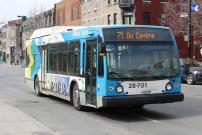 STM announces service improvements to line 71 – Du Centre