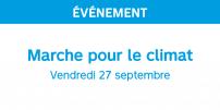La STM poursuit son engagement en termes de développement durable en encourageant les Montréalais à emprunter le transport collectif lors de la marche du 27 septembre