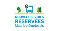 La STM annonce la mise en service de nouvelles mesures préférentielles pour bus sur le boulevard Maurice-Duplessis