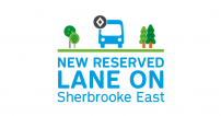The STM announces the implementation of bus, taxi and carpool priority measures on Sherbrooke Street East