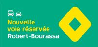 La STM annonce la mise en service de mesures préférentielles pour bus et taxis sur le boul Robert-Bourassa