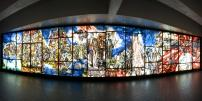 Some 50 years ago… the first painted glass mural in the Montréal métro