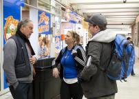 Field visit with the intervention team from the Pôle de services en itinérance in the Montréal métro network